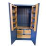 110cm version also available, also includes 2 upper solid OAK adjustable shelves