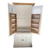solid wood kitchen larder cupboard