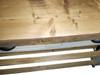 Kitchen island - reclaimed wood top