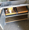 handmade pull out drawers saves waisted space