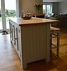 our design service, butchers block islands and larder cupboards