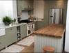 handmade farmhouse kitchen, larder cupboards