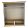 """60"""" wide Hall stand with 2 bottom section shelves"""