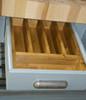 Optional cutlery drawer insert