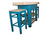 "Butchers Block Double overhang island - colour ""vardo"""