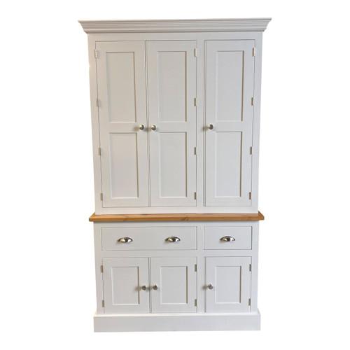 Hemingford 6 door, 2 drawer kitchen larder, provisions unit