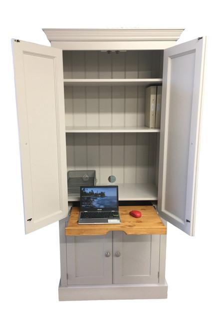 Burford home office larder cupboard