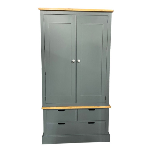 2 door 3 drawer Oxford Kitchen Larder