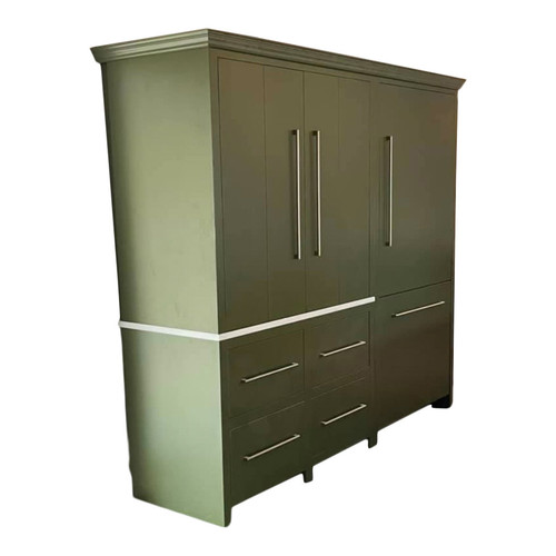 The Hadleigh kitchen larder with stunningly beautiful, fold over doors