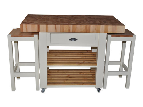 Butchers Block Double overhang