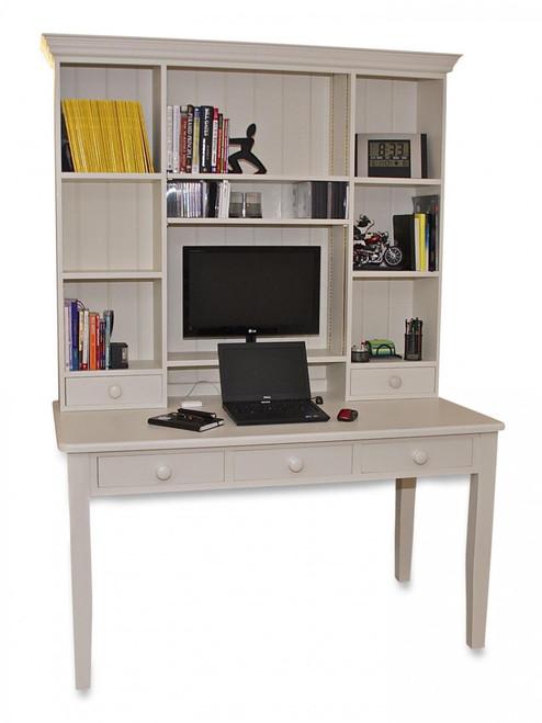 "Desk workstation colour ""white Tie"""