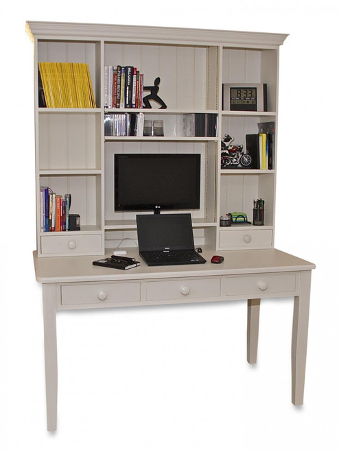 "Desk workstation colour ""white Tie"""