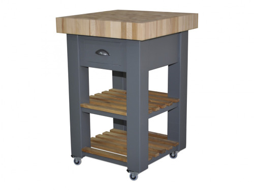 Butchers Block 60cm by 60cm end grain beech island