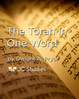 The Torah in One Word