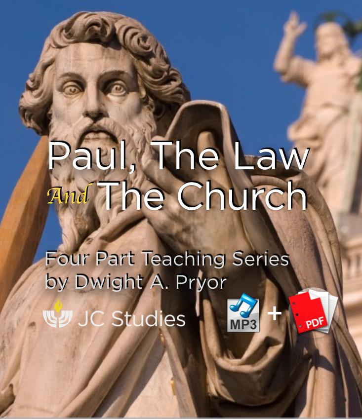 Paul, The Law & The Church - Bundle: MP3's & Transcript