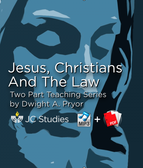 Jesus, Christians & The Law (Bundle: MP3's + Transcript)