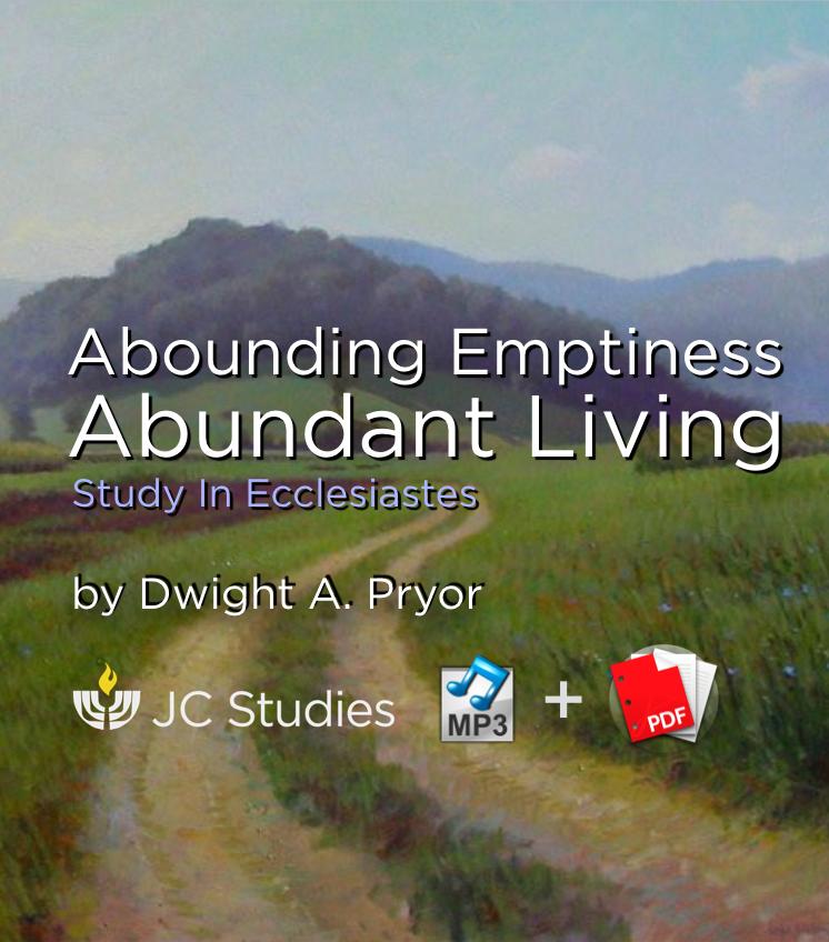 Abounding Emptiness, Abundant Living (Bundle: MP3's & Transcript)