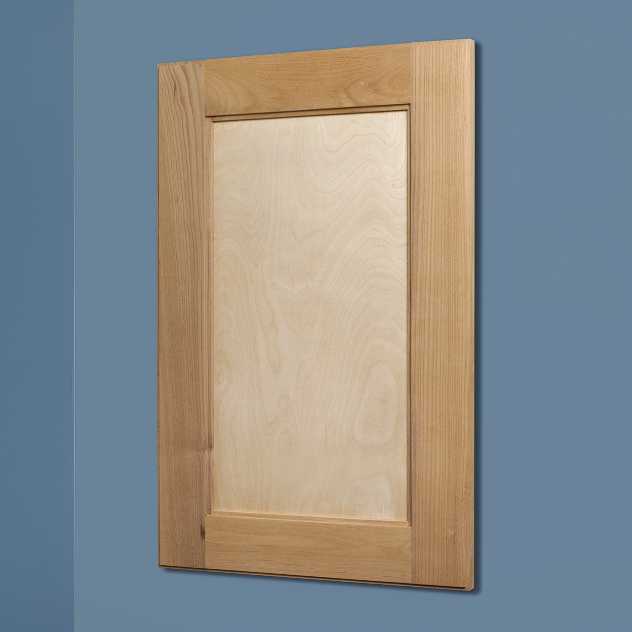 Unfinished Shaker Style Recessed Medicine Cabinet 14x24 Recessed