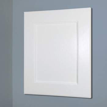 Unfinished Shaker Style Recessed Medicine Cabinet 14x18
