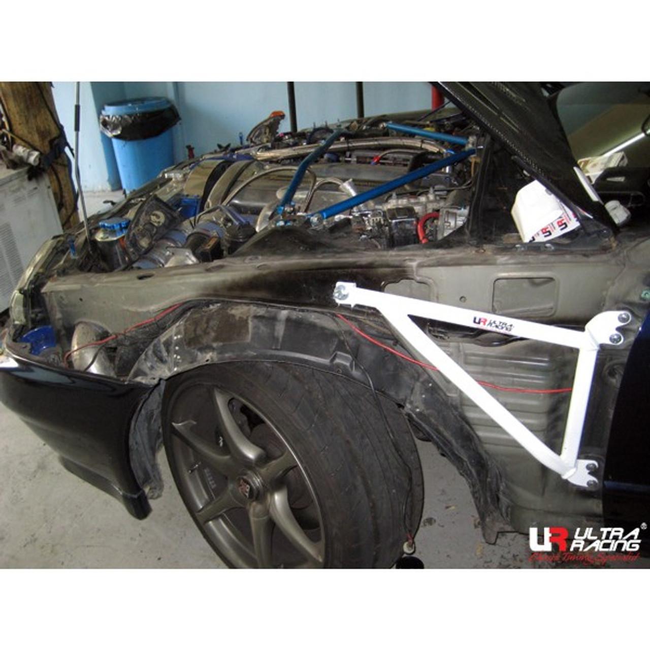 for Nissan Skyline GTR R32 R33 Ultra Racing Front Lower Bar Brace UR-LA2-479A