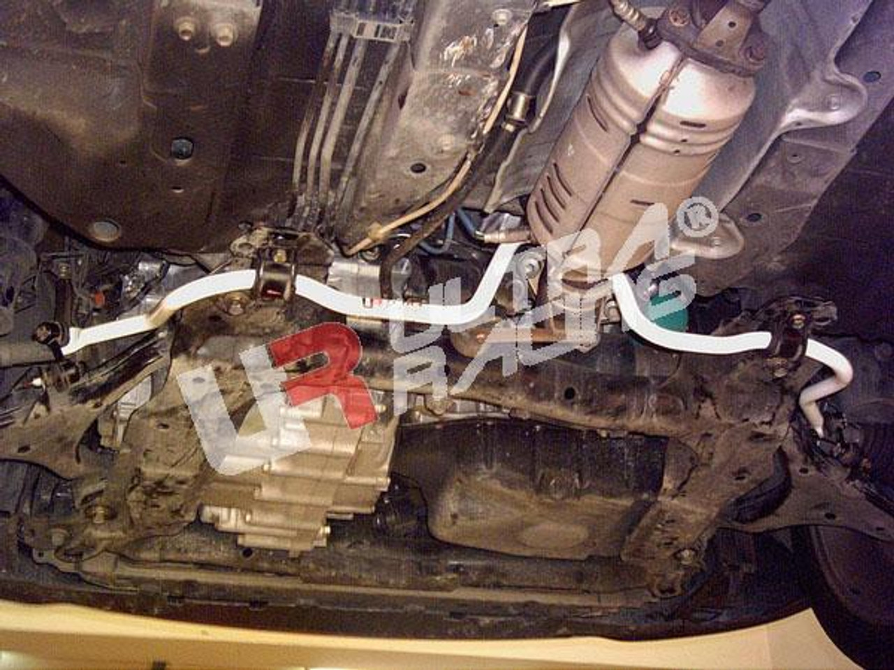 UR-LA4-157 HONDA CIVIC ES 1.7 2.0 EP3 DC5 ULTRA RACING 4 POINT FRONT LOWER BAR