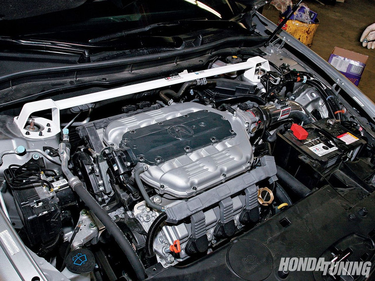 Acura TSX (CU2) V6 shares the same top hats as the 2008 Honda Accord for both I-4 and V6.