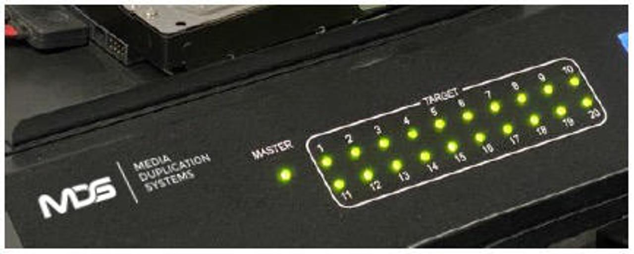 "FX2140 Industrial Grade 2.5""/3.5"" SATA Hard Drive 1 Master to 20 Targets Duplication System"