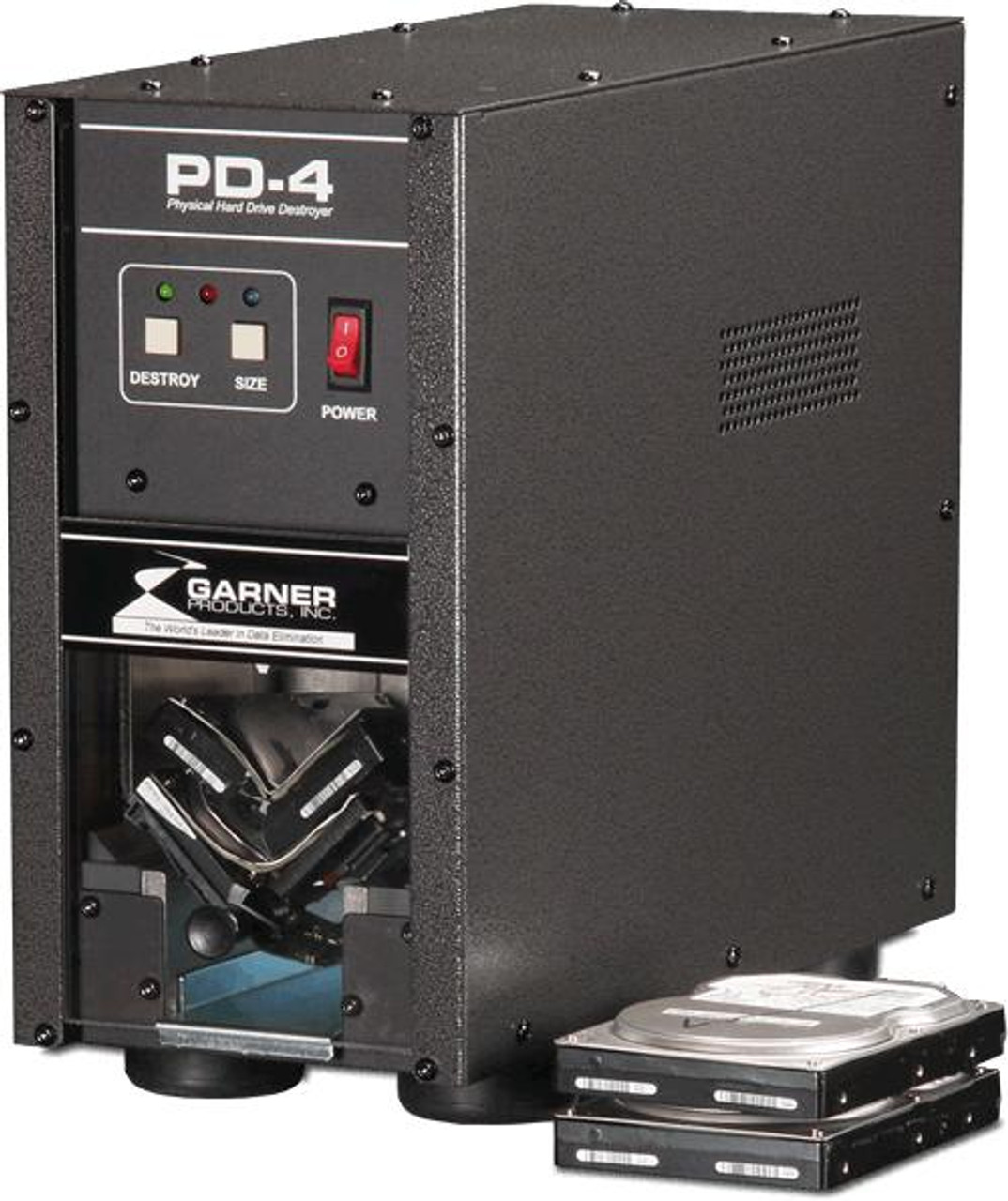 PD-4 Physical Hard Drive Destroyer