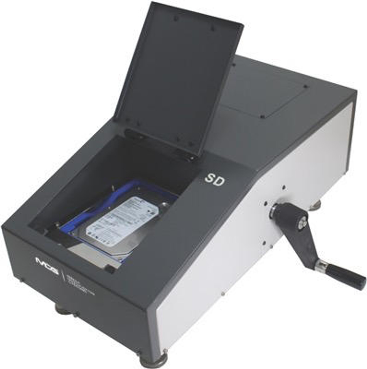 SD-1 Mobile Hard Drive and Tape Degausser - wipes data/renders HDDs permanently unusable