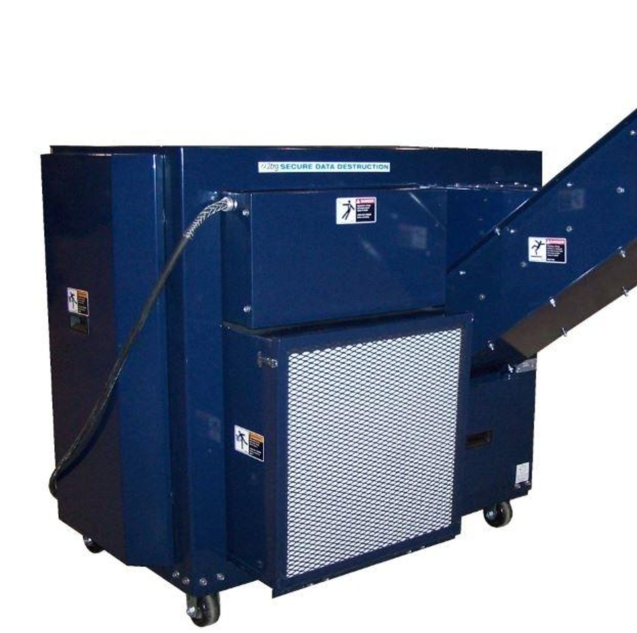 AMS-500 | 750 | 1000 Hard Drive and Solid State Drive Shredders