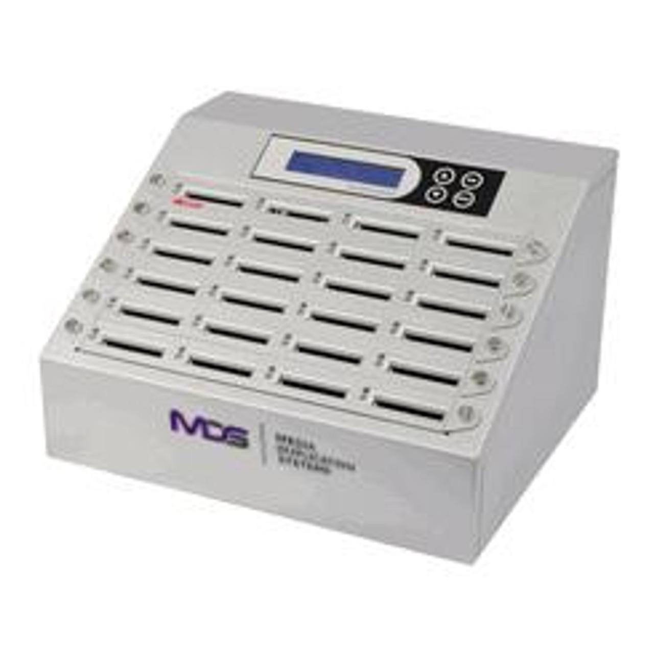 DupliCF 1 to 39 CF Memory Card Duplicator and Eraser