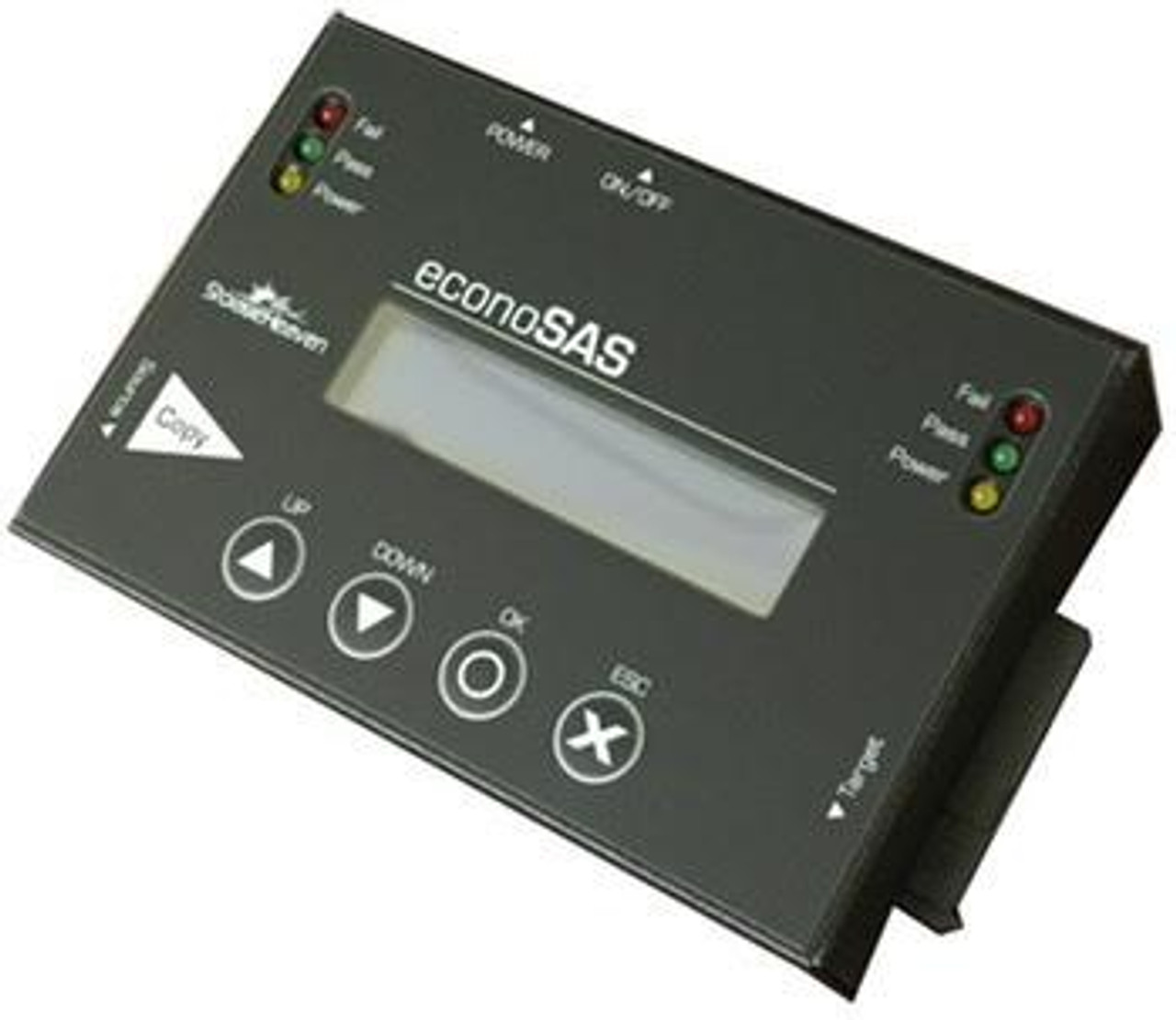 "EconoSAS Portable M.2 SSD SATA, 2.5"" & 3.5"" SAS/SATA & CFast Drive Copier & DoD Eraser"