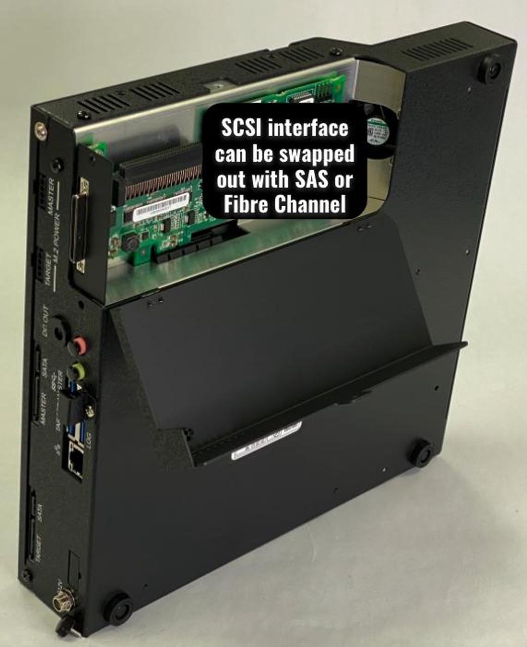 FX2260 showing SCSI Interface
