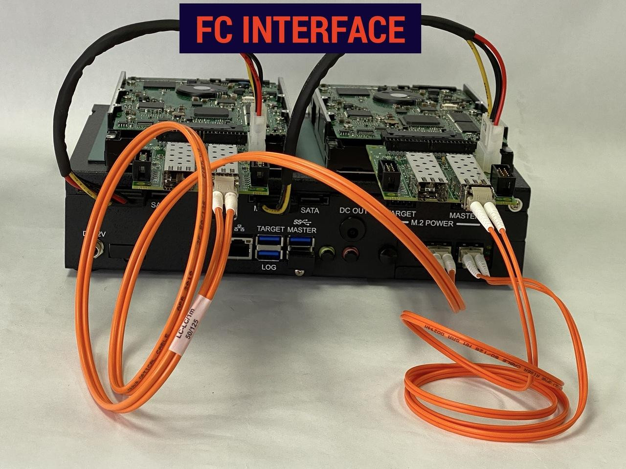 FX2260 with FC Interface ports at the Rear
