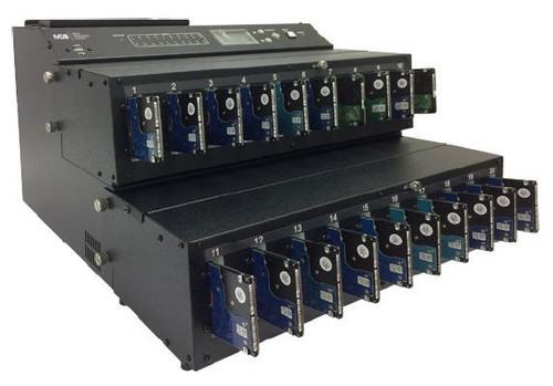 """FX2140 Mass Production 2.5"""" and 3.5"""" SATA Industrial Grade Duplication System Cable-less"""