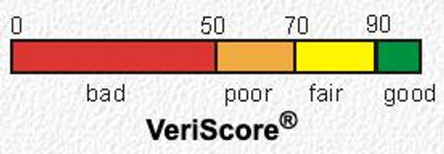 The VeriScore rates the LTO Tapes so you will know if the tape is good or not