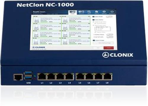 NetCLon 8 ports