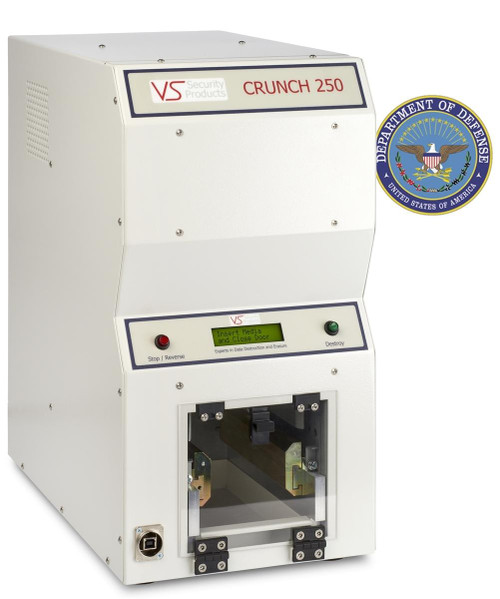 Crunch 250 - Hard Drive & Solid State Drive Destroyer