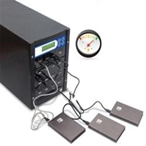 XpressHDD External Portable USB 2.0/3.0/3.1 Hard Drive and Flash Memory Duplicator