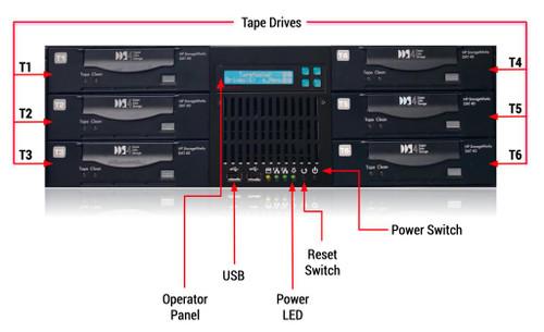 TapeMaster-LS 1:5 DDS 4MM DAT Tape Mass Replication Appliance