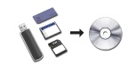 backup flash memory to CD or DVD