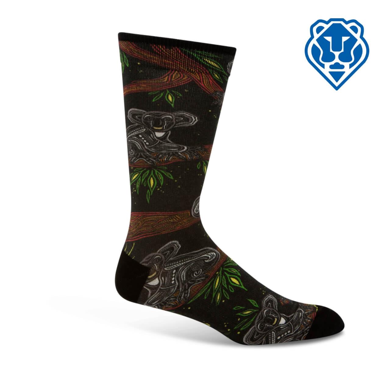 Image of Indigenous Australian Koala Sock