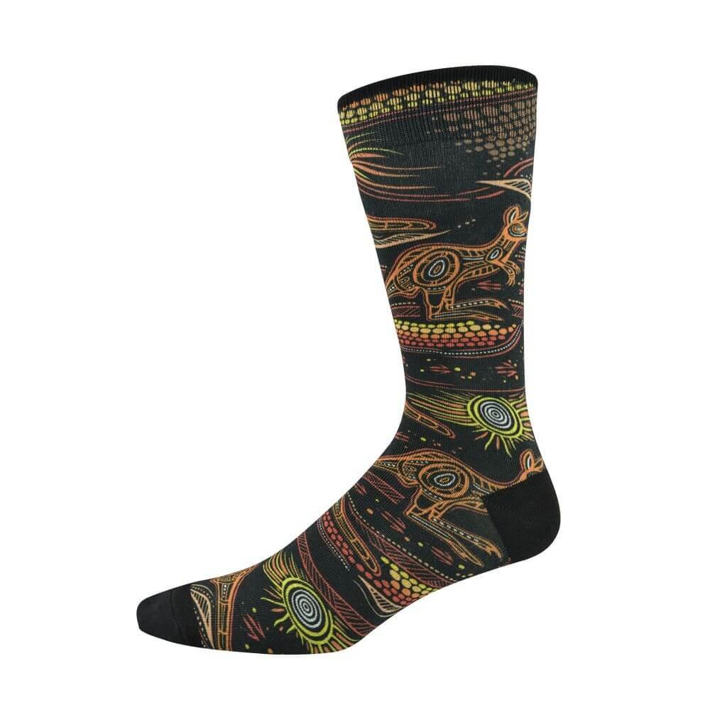 Image of Indigenous Australian Kangaroo Sock