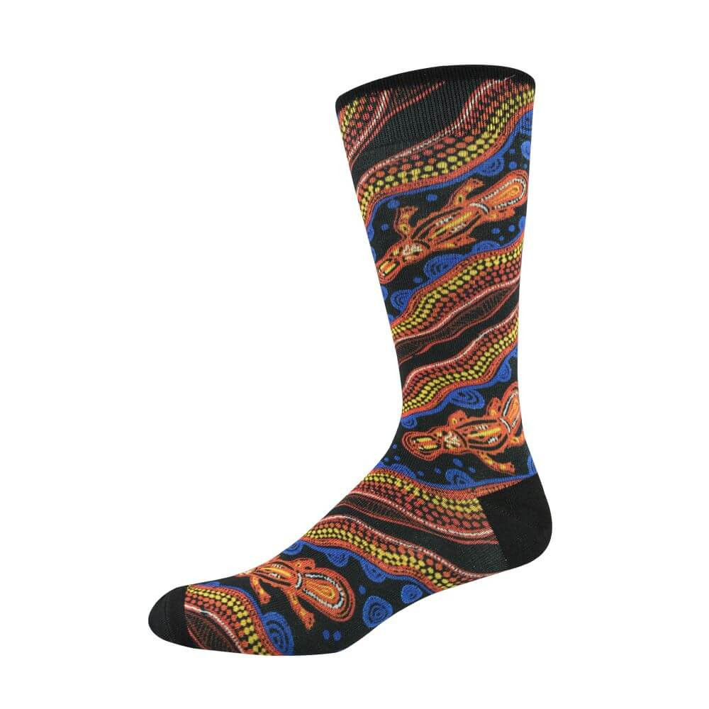 Image of Indigenous Australian Platypus Sock