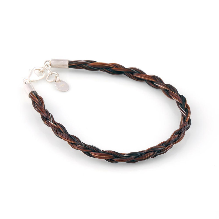 Classic - Single Round Horsehair Bracelet