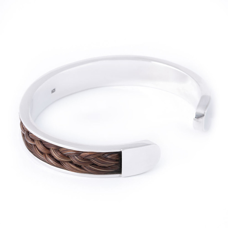 The Aspire Horsehair Flat Torq Bangle