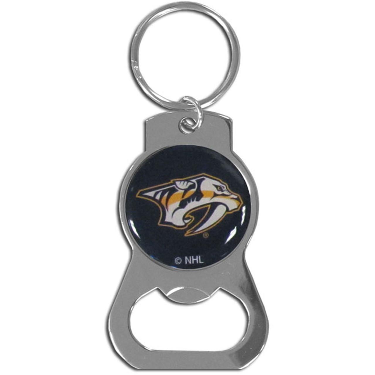 NHL Nashville Predators Chrome Key Chain