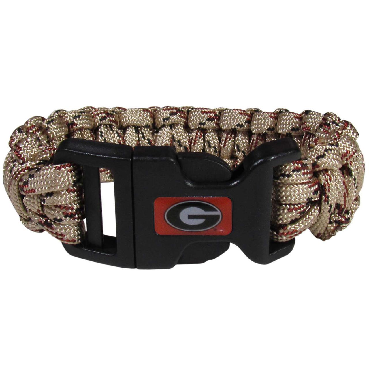 1249ecc489e Georgia Bulldogs Camo Survivor Bracelet Camo TN - Dragon Sports