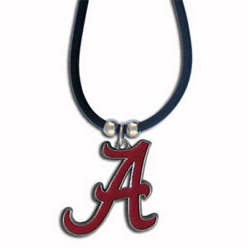 Alabama Crimson Tide Rubber Cord Necklace