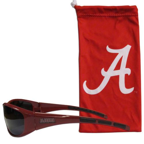 Alabama Crimson Tide Sunglass and Bag Set